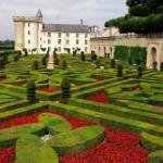 El castillo de Villandry y sus hermosos jardines