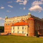 El castillo de Golub-Dobrzyn, en Polonia